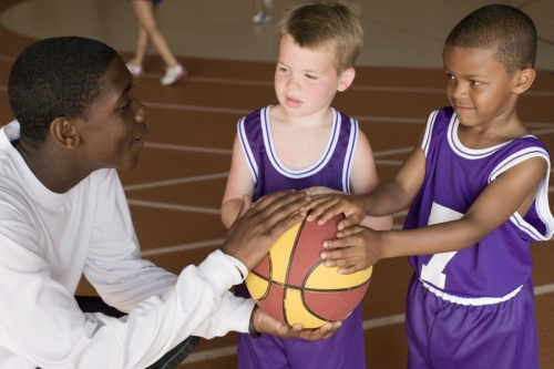 Tiny Tots Basketball Clinic